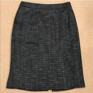 Halogen Tweed Pencil Skirt - Size 4